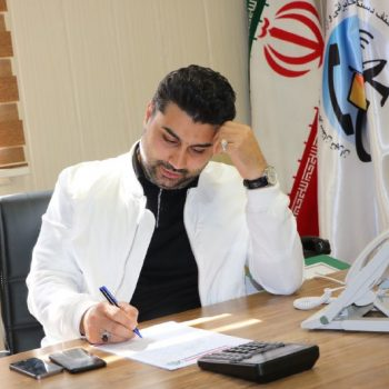 خزانه دار اتحادیه : آقای سید حسین سادات حسینی
