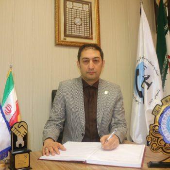 دبیر هیئت مدیره اتحادیه : آقای علیرضا صمیمی