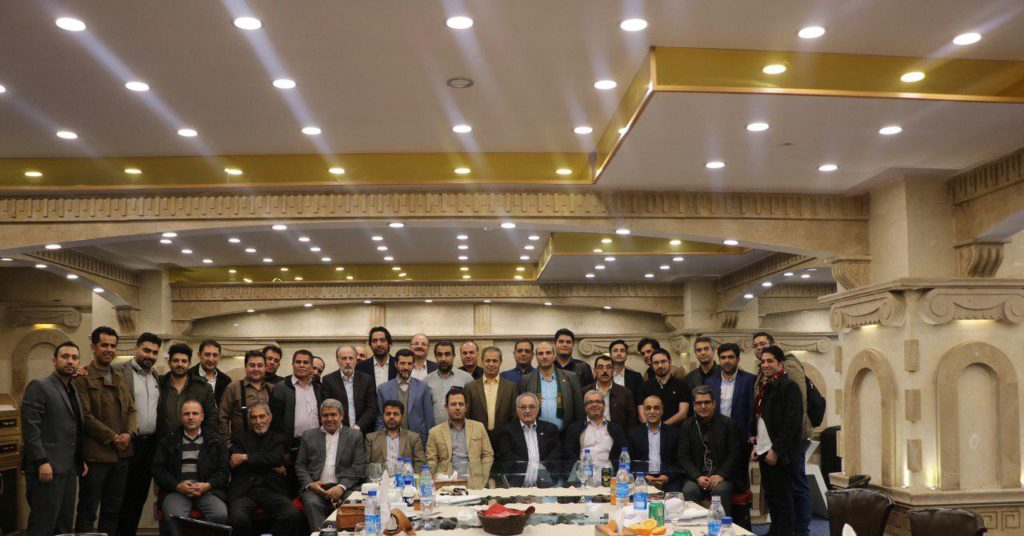 مراسم تجلیل از همکاران کمیسیونهای پنجگانه اتحادیه
