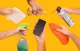 روش درست ضدعفونی کردن تلفن همراه  در زمان کرونا
